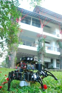 Fire Fighter Hexapod Robot